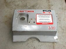 CRAFTSMAN SNOW BLOWER 3/20 TOP COVER 536.884230 (184)