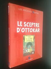 Archives Tintin Le sceptre d'Ottokar Hergé ETAT NEUF sous cello jamais ouvert
