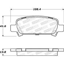 Disc Brake Pad Set-Sport Brake Pads Rear STOPTECH fits 05-09 Subaru Legacy
