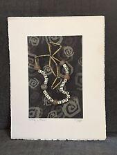 "Naomi Savage Photograph 1999 Museum Photo ""Greed will impoverish you"" rag paper"
