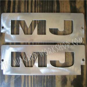 TMW RUNNING LIGHT COVERS FITS: 86 - 92 JEEP COMANCHE MJ LIGHT COVERS