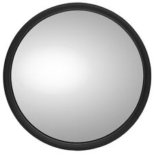TRUCK-LITE 97820 - 6 in., Black Steel Convex Mirror, Round, Universal Mount