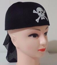 Pirate Crossbone Hat bandanna style Fancy Dress .. Cosplay..