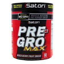 Isatori pre-Gro MAX Pre Allenamento con Bio-Gro - 60 porzioni-frutti di bosco misti
