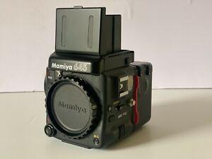 Mamiya 645 Pro + Waist Level Finder + Film Back