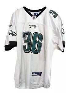 Philadelphia Eagles Ronnie Brown #26 Jersey Reebok Onfield sz 52 NFL Football