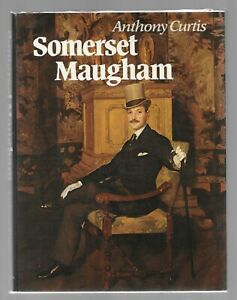 W SOMERSET MAUGHAM Anthony Curtis Review Copy HB English Author Of Human Bondage