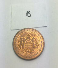 *********     Monnaie 2 centimes euro MONACO 2001     *********