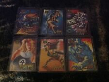 1995 Marvel Masterpieces Canvas Cards (You Pick One)