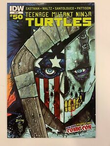 IDW TEENAGE MUTANT NINJA TURTLES #50 : NYCC COVER : NM CONDITION