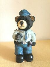 .  Cute Policeman Teddy Bear Figurine by Designspirations