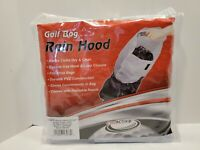 Rain Hood for Golf Bag - Universal Fit, Clear PVC, by ProActive Sports