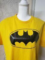 Batman Men's Size XL  Comics Graphic Black T Shirt