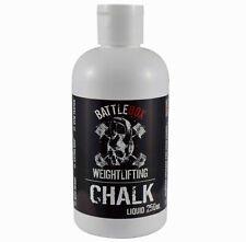 Battlebox Weightlifting® 250ML Liquid Chalk Rock Climbing Gymnastic Fitness Gym
