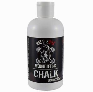 Battlebox Weightlifting® 250ML Liquid Chalk Rock Climbing Gymnastic Fitness Gym