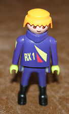 Playmobil personnage homme pilote cross voiture ref jj