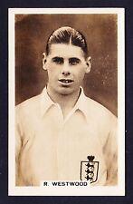John Scerri INTERNATIONAL FOOTBALLERS 1935 #9 Westwood BOLTON WANDERERS *Exc*
