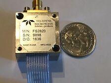 Teledyne Microwave FS2820 YIG Oscillator SMA Tektronix Spectrum Analyzer