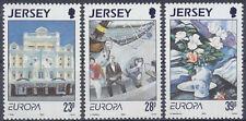 Jersey - 1993, Europa, Contemporary Art set - MNH - SG 625/7
