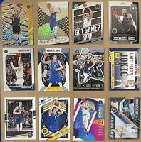 Nikola Jokic Lot 12 cards: Revolution, Mosaic, NBA Hoops, Donruss
