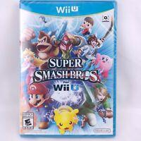 Nintendo Wii U Super Smash Bros. for Wii U - New with Damaged Seal