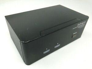 StarTech 2-Port Dual DVI USB KVM Switch w/ Audio & USB 2.0 Hub SV231DD2DUA