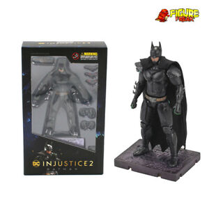 "Hiya Toys DC Comics Injustice 2 Batman 3.75"" Action Figure (1:18 Scale)"
