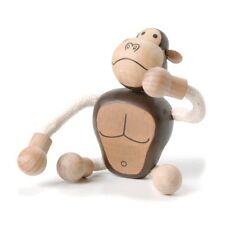 NEW AnamalZ Gorilla Poseable Wood Wooden Figure 10cm - Preschool Steiner