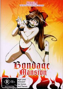 BRAND NEW Bondage Mansion DVD - Region 4 SEALED   Siren Visual Hentai Adult Rare