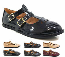 Unbranded Ankle Strap Patternless Flats for Women