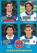 n°363 VIGNETTE PANINI CHAMPIONNAT DE FRANCE 1996 4 joueurs CHATEAUROUX