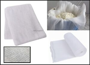 Cheese Cloth Food Straining Butter Muslin Gauze Cooking Draining Cotton Fabric