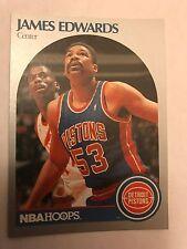 1990 NBA Hoops James Edwards Detroit Pistons 104