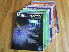 """Nutrition Action"" Health Letter magazine 8 issues 2014 VGC No Advertising"