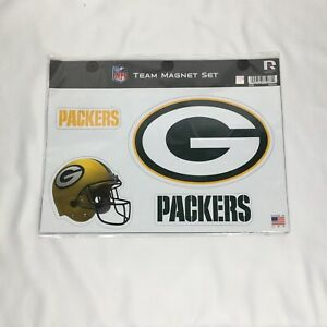 Green Bay Packers Team Magnets NFL Football New in Package