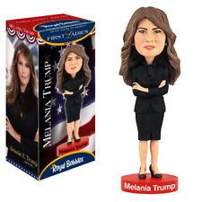 """Royal Bobbles Melania Trump 8"""" Bobble Head Figure"""