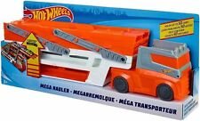 Hot Wheels FTF68 Mega Hauler Truck Garage and Mini Toy Car