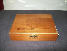 WOODEN CIGAR BOX/ COMPANIA De TABACOS De LAS ANTILLAS, S.A/ REPUBLICA DOMINICANA