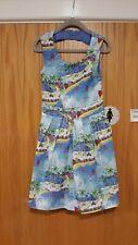 Girls Multi Print Dress 5-6 yrs From YUMI