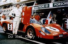 Steve McQueen Le Mans Film Ritratto Fotografia 1971 3