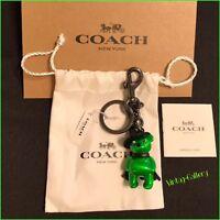 "COACH ""Wizard of Oz"" Wicked Witch Bear Keychain, Bag Charm LIMITED EDITION / NWT"