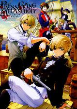 Hetalia Axis Powers YAOI Doujinshi Comic USA x Pirate UK (British Empire) Press
