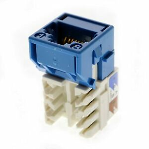 COMMSCOPE 760092452 SYSTIMAX MGS600 / Cat6A  MGS600-318 Blue Jacks - LOT OF 25