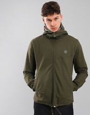 Pretty Green Beckford Cotton Hooded Jacket Khaki L