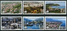 More details for turkey 2019 mnh tourism stamps calm turkish cities slow movement 6v set