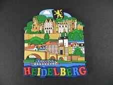 Magnet Heidelberg Germany,Schloss Neckarbrücke,RUBBER KOLLEKTION