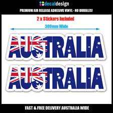 Australian Flag Decal 30cm Australia Day Southern Cross Bumper Sticker #A006