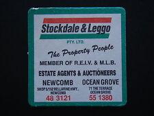 STOCKDALE & LEGGO NEWCOMB 483121 OCEAN GROVE 551380 COASTER