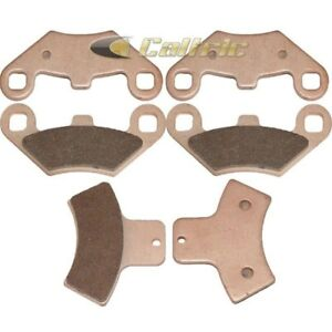 NICHE Brake Pad Set For 2001-2017 Polaris Magnum Sportsman Trail Boss 2203451 2202414 1910680 1910425 Semi-Metallic