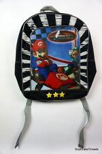 Mario Kart DS Nintendo Backpack School Bag w/ Luigi